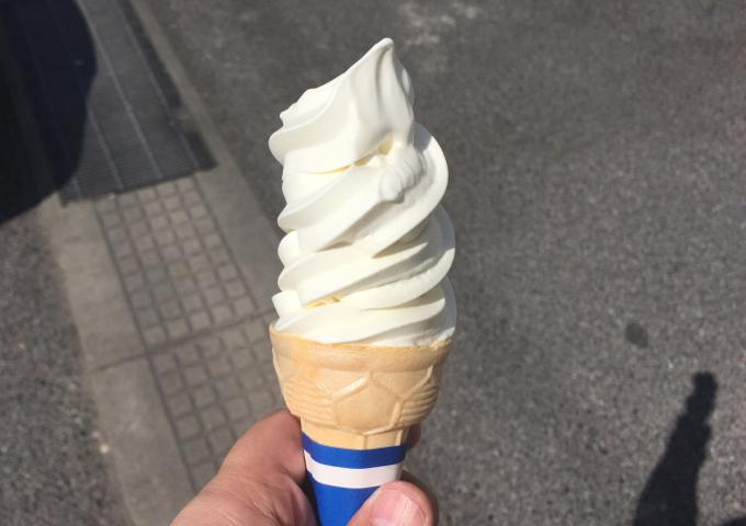 ディオ パクパク ソフトクリーム