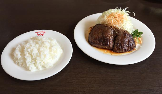 ラジャ福山南店ビーフステーキ