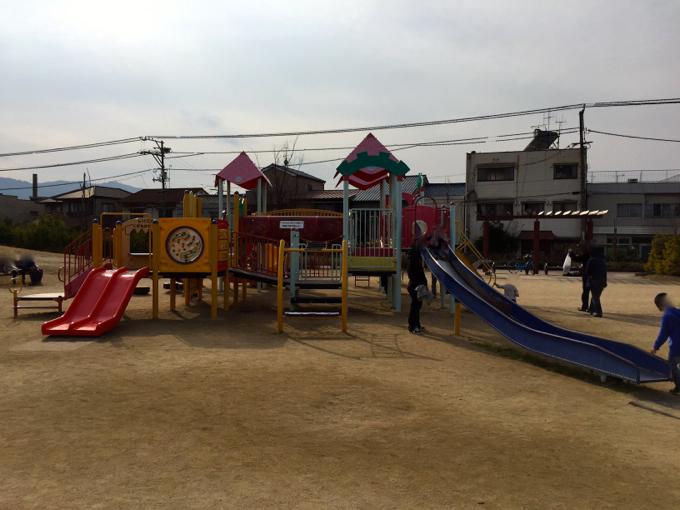 福山みなと公園 遊具