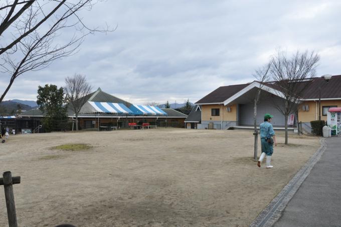 福山動物園 広場