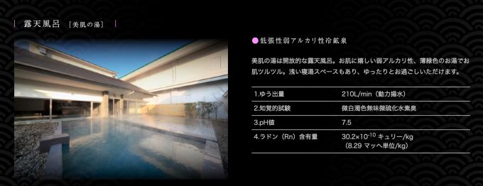 昭和の湯 露天風呂