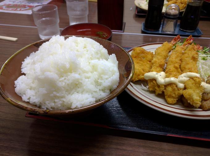 竹野食堂 特盛り