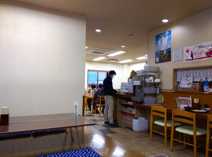 竹野食堂 店内