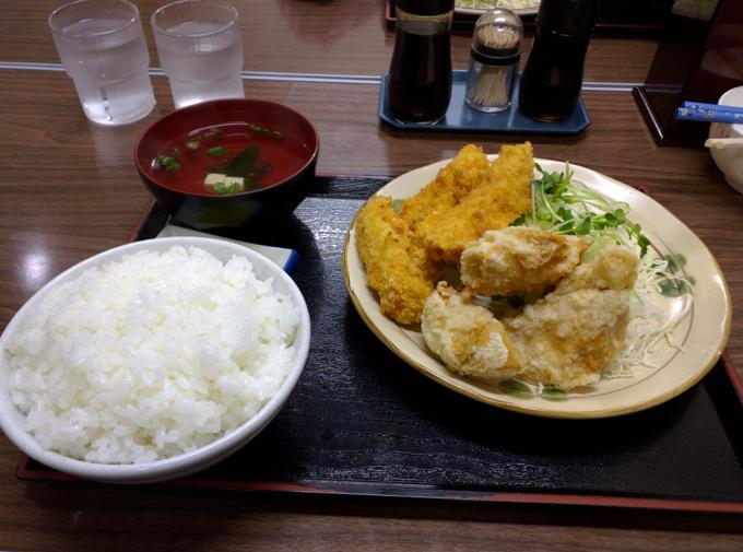 竹野食堂 チキトリ定食