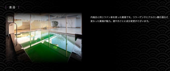昭和の湯 薬湯