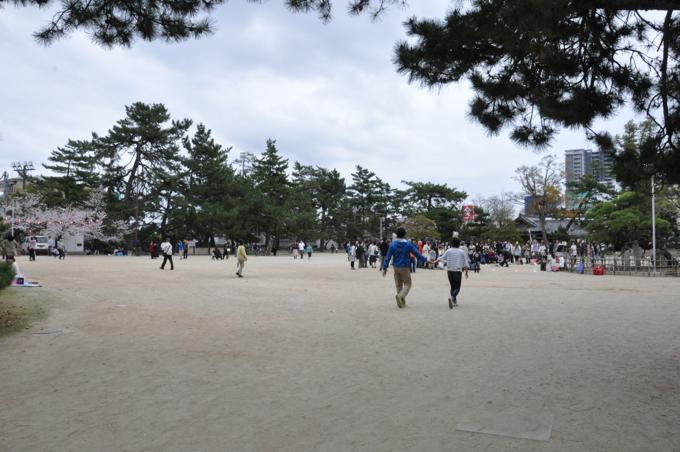 福山城広場