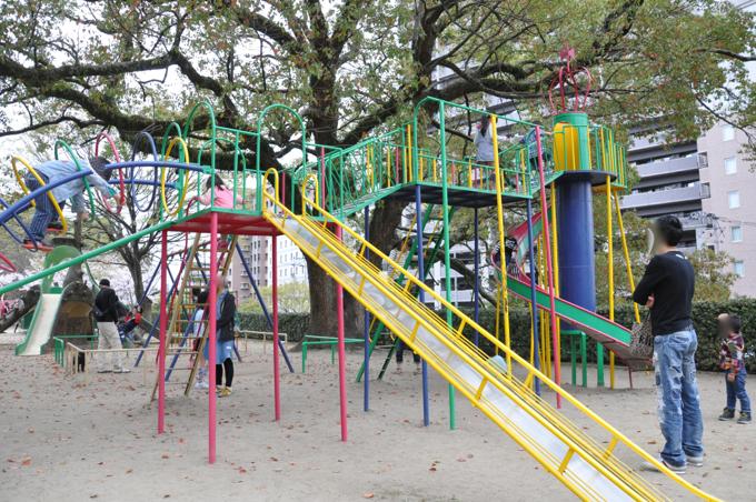 福山城の公園