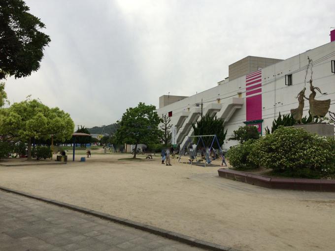 蔵王公園 ブランコ