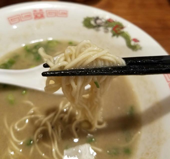 めんや長いちでストロングを食べる!福山市でどとんこつラーメンを食べたいのならここ