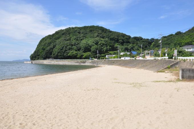 青佐鼻海岸 砂浜