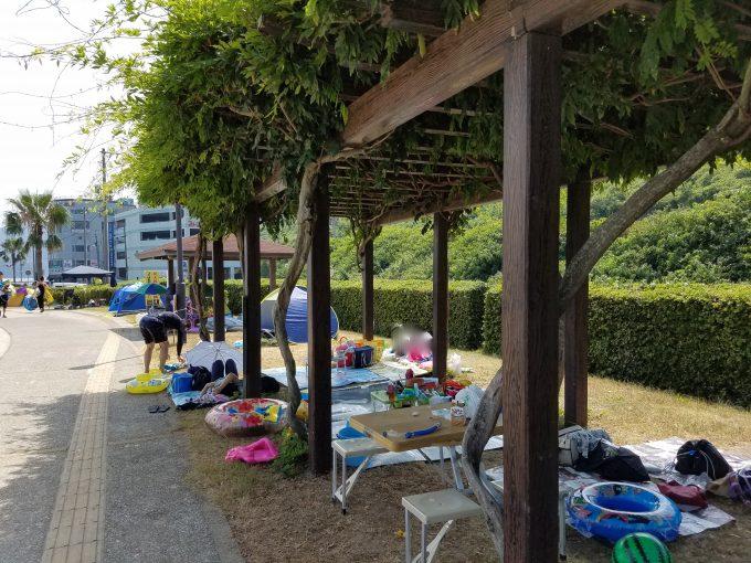 すなみ海浜公演 休憩所