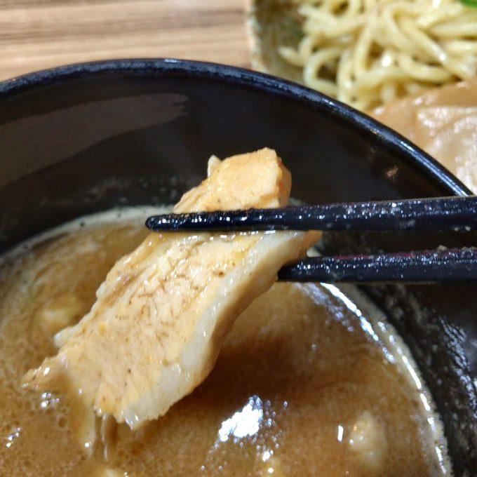 志堂 つけ麺 チャーシュー