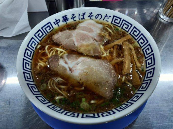 「中華そば そのだ」で中華そばを食べる!福山駅方面のラーメン勢力に変化が!?