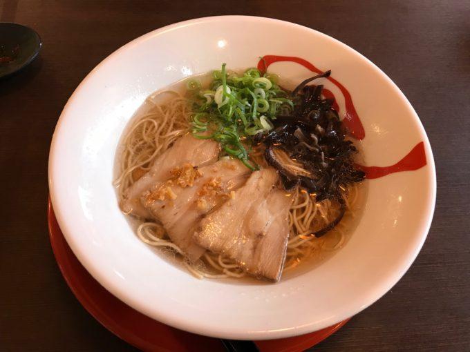 三十二匁(さんじゅうにもんめ)蔵王町のラーメン店で牛骨ラーメンを食す!