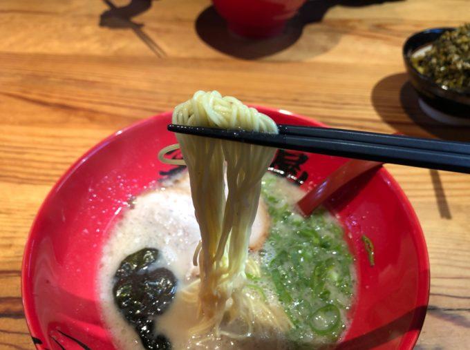 ずんどう屋 福山明神店 麺