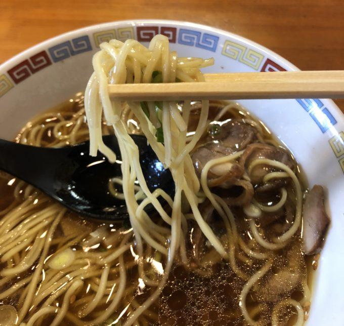 お多津 中華そば 麺