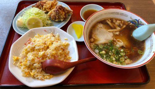 福龍で巨大唐揚げとラーメンを食す!福山市の人気中華店でランチ!