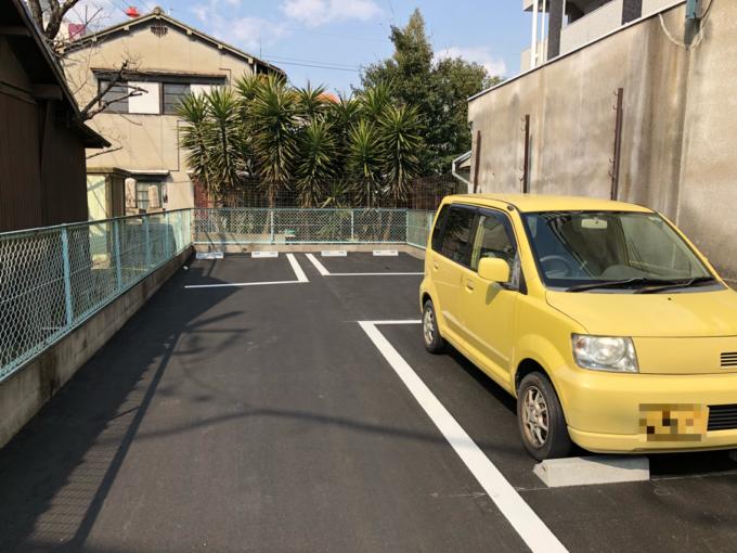 ぼっけえラーメン 駐車場