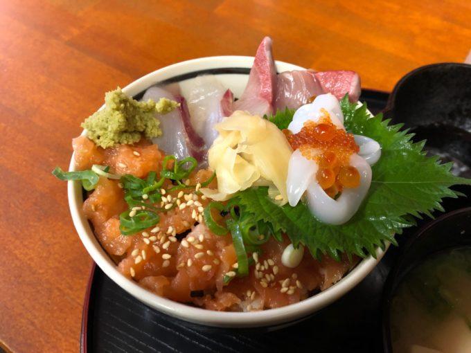藤井堂 ミニ海鮮丼