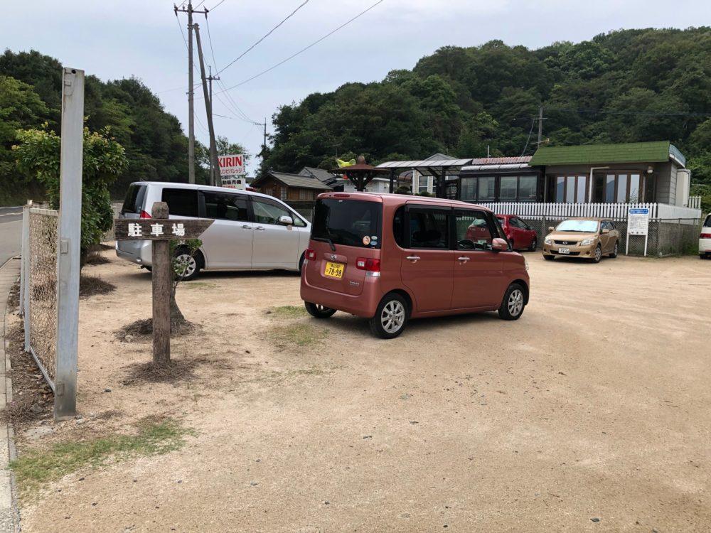 立花海岸 駐車場